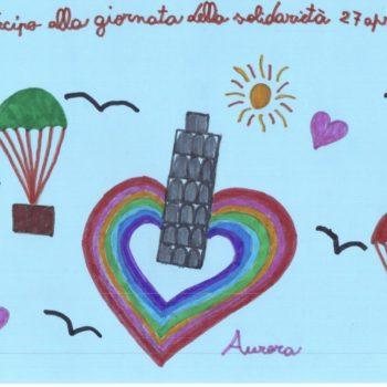 Un arcobaleno di speranza e amore