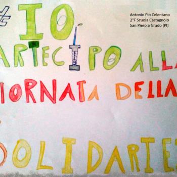 #io partecipò alla giornata  della solidarietà